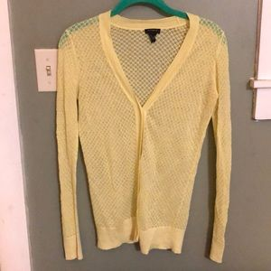 Ann Taylor sheer cardigan